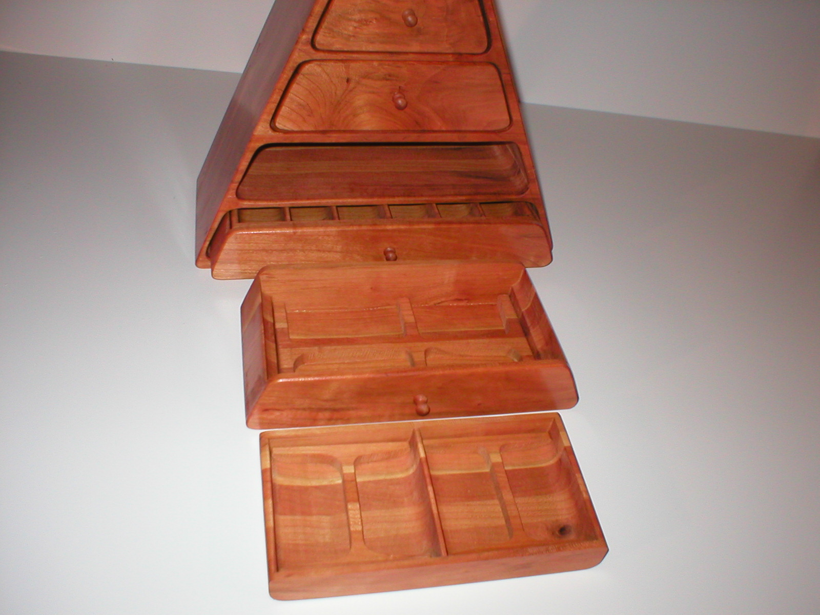 full of lift out trays